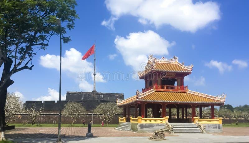 颜色北京皇城 库存图片