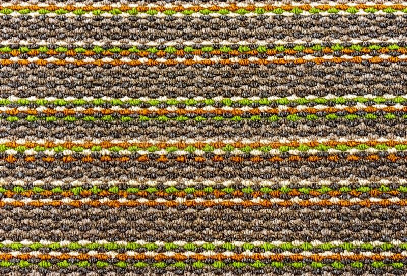 颜色地毯的Тexture 设计和装饰的背景 库存图片