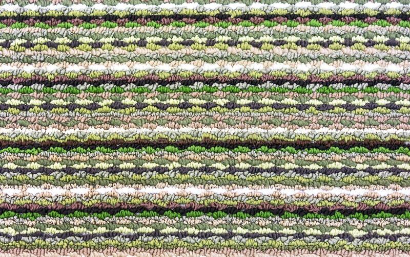 颜色地毯的Тexture 设计和装饰的背景 免版税图库摄影