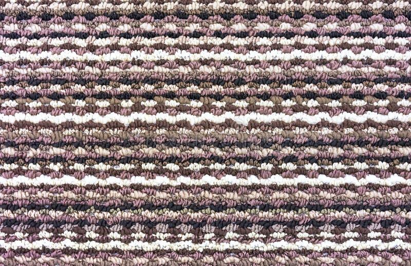 颜色地毯的Тexture 设计和装饰的背景 免版税库存图片