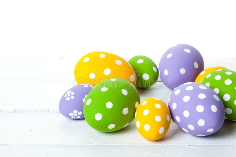 颜色复活节彩蛋节假日 库存照片