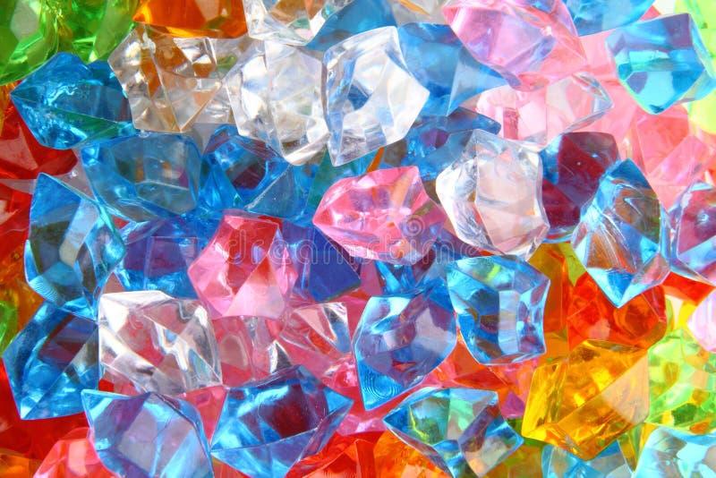颜色宝石 免版税图库摄影
