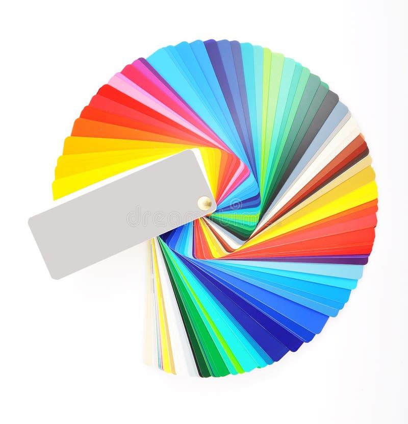 颜色抽样人员 库存照片