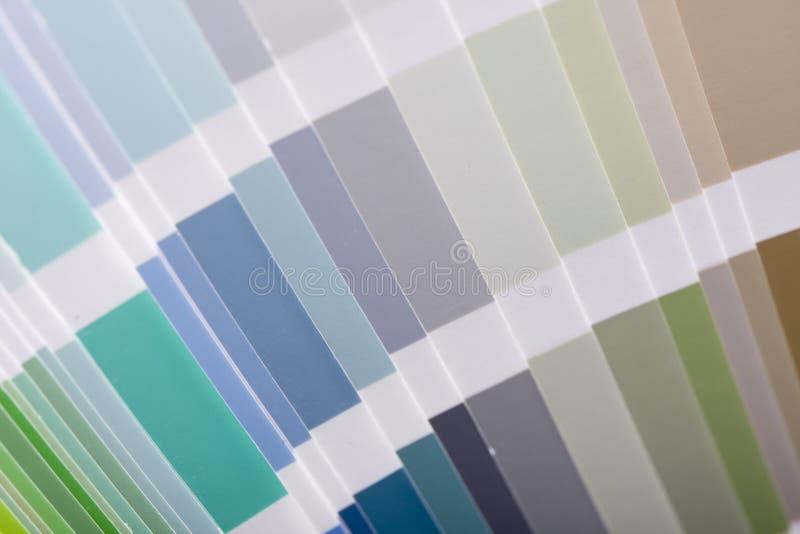 颜色指南 免版税图库摄影