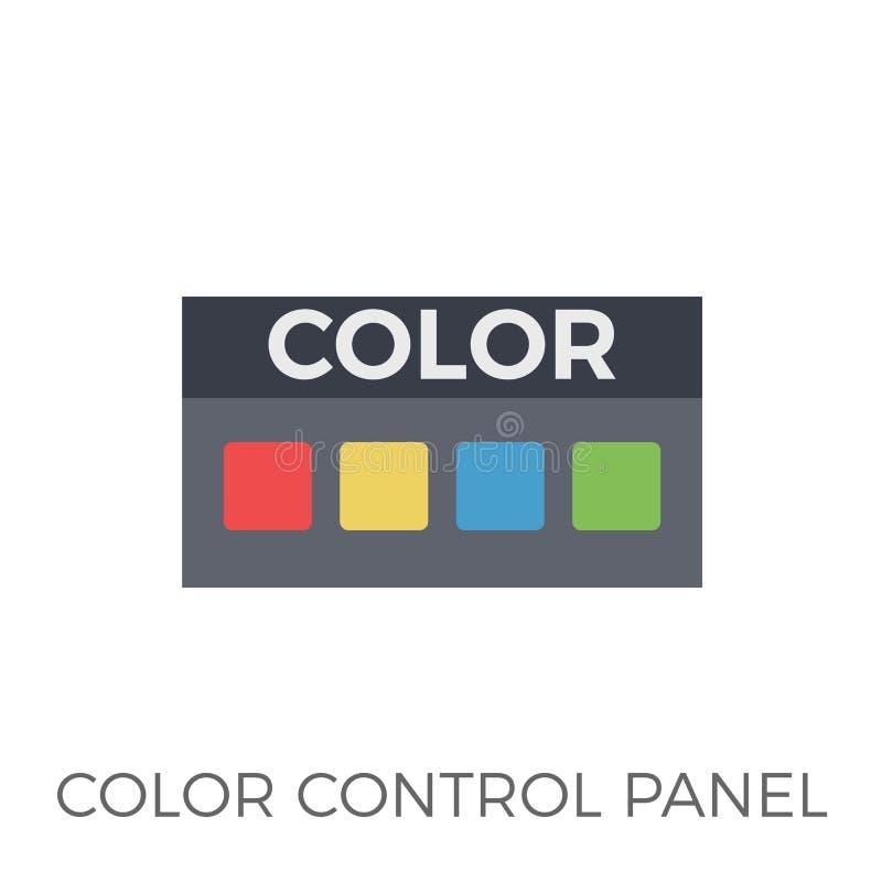 颜色控制板象传染媒介 皇族释放例证