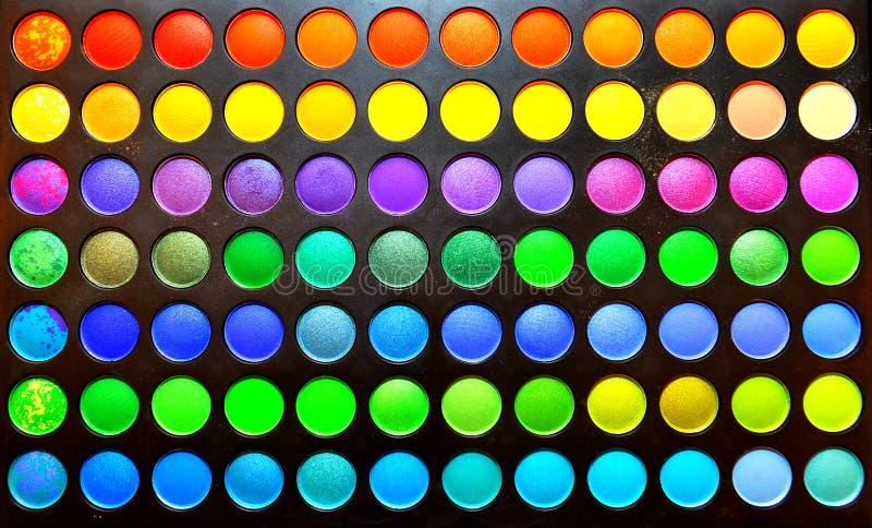 颜色构成集 免版税库存图片
