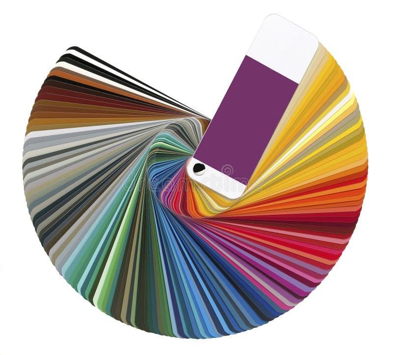 颜色样片   免版税图库摄影