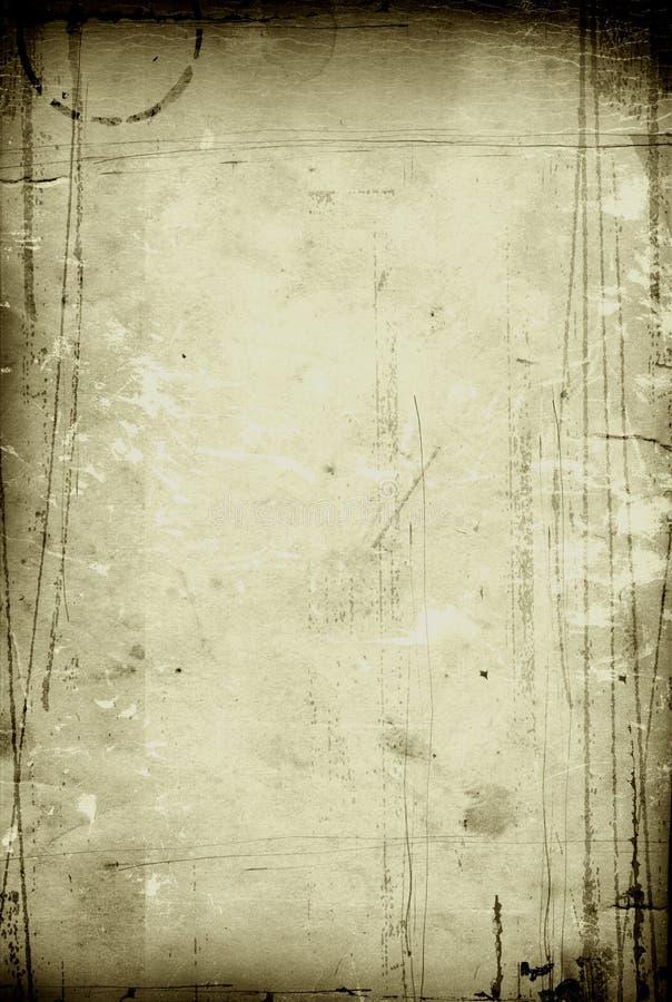颜色橄榄色纸葡萄酒 图库摄影