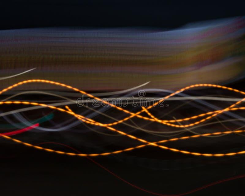 颜色正弦曲线 库存例证