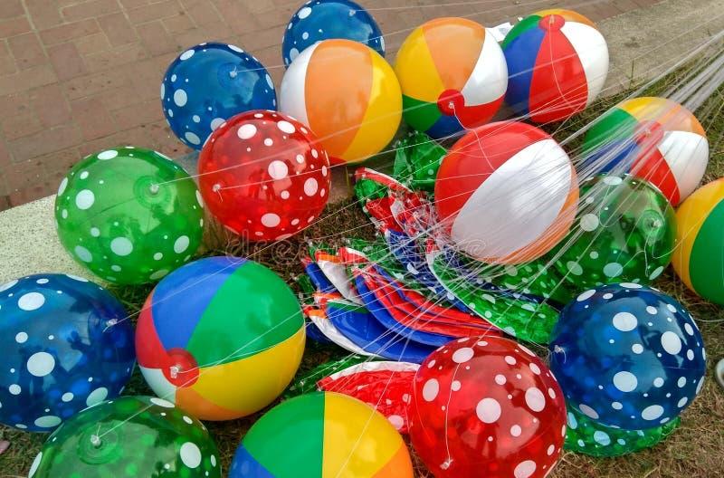 颜色气球 库存照片