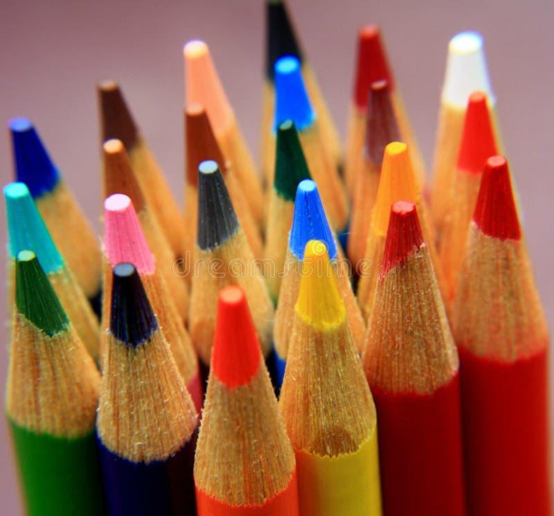 颜色汇集 免版税库存图片