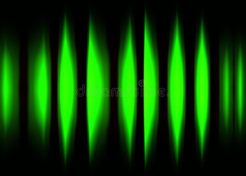 颜色波形形式2 库存例证