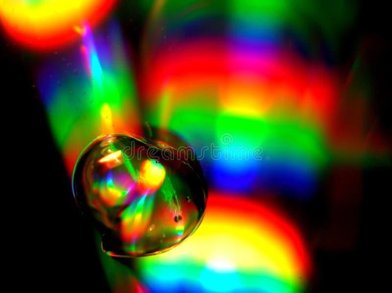 颜色流液体 库存照片