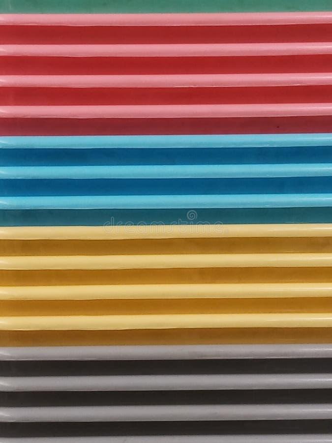 颜色甜点 免版税库存图片