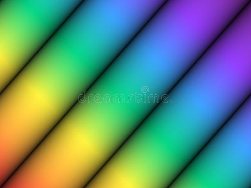 颜色磁道 库存例证