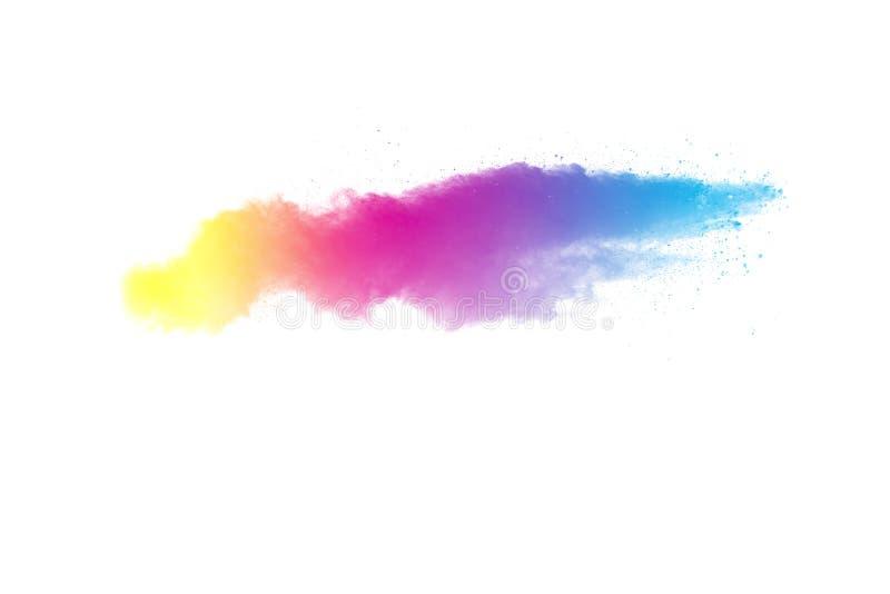 颜色粉末爆炸 库存图片