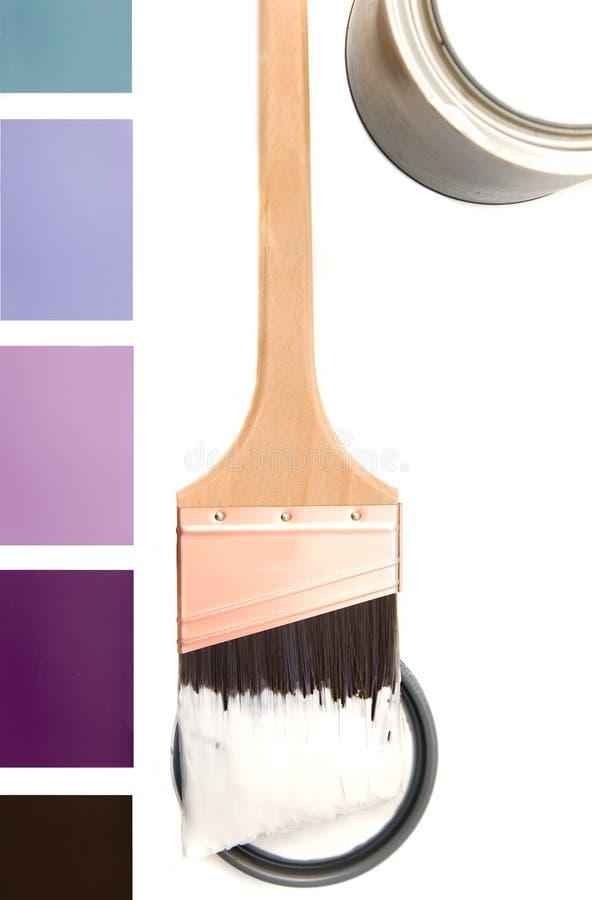 颜色紫色模式 免版税库存图片