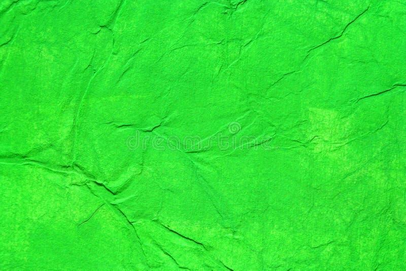 颜色绿色被绘的纸张 免版税库存图片