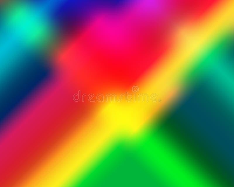 颜色背景155 向量例证