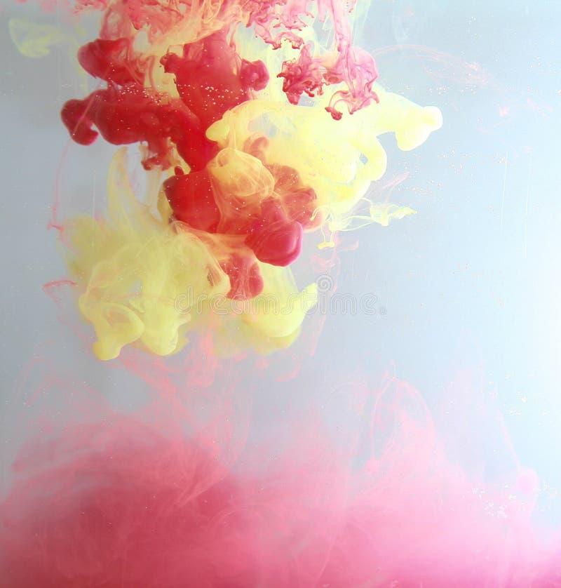 颜色花梢烟 图库摄影