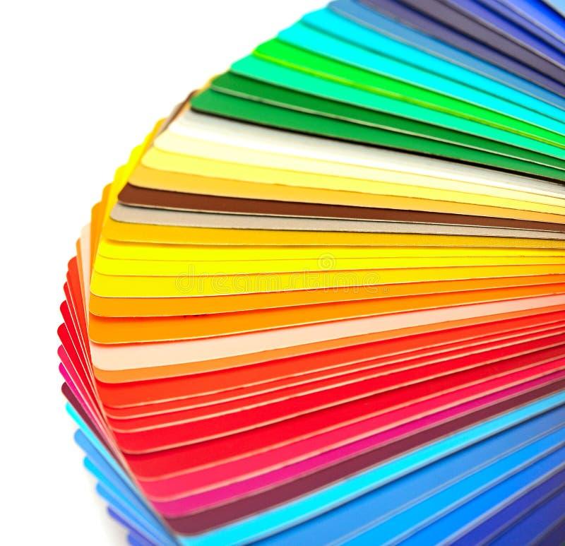 颜色范例  库存照片