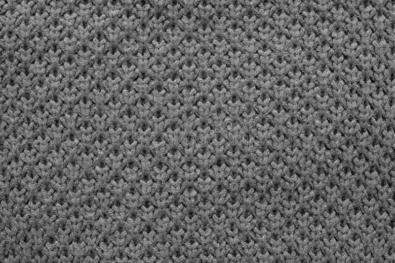 黑颜色被编织的蜂窝纹理  库存图片