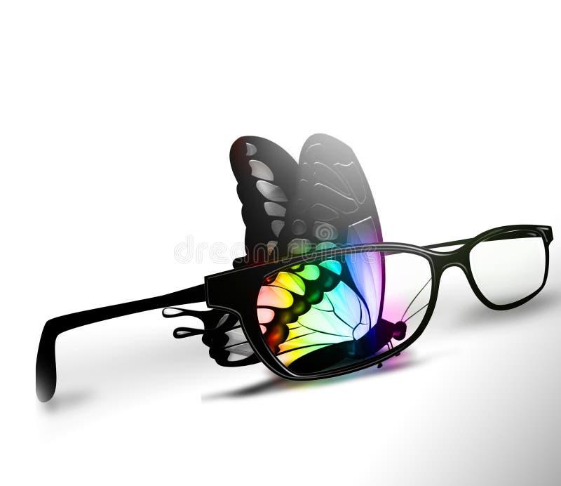 颜色视觉 向量例证