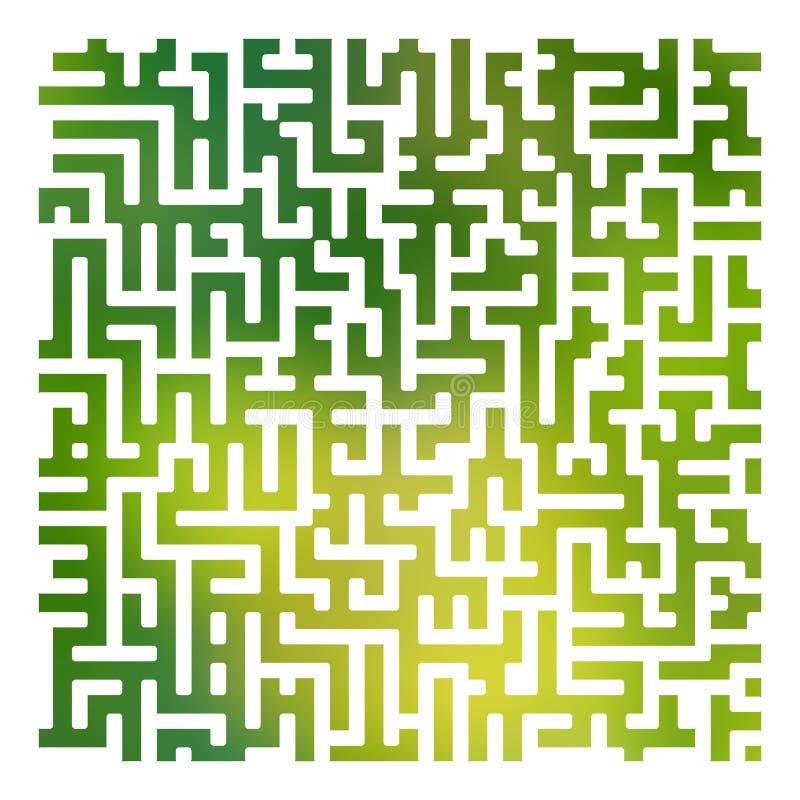 颜色轻的迷宫纹理摘要backgroubnd03 库存例证
