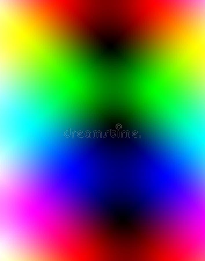颜色9 向量例证