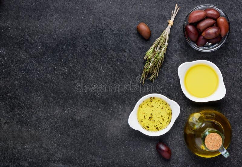 额外在拷贝空间的维尔京橄榄油 免版税库存图片