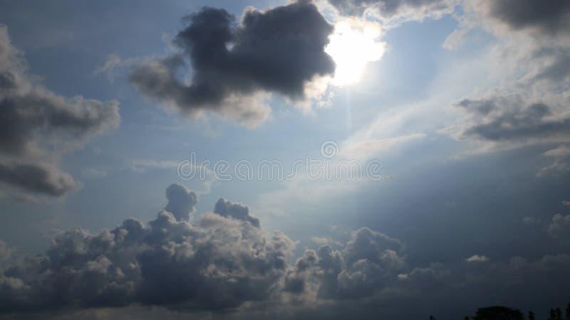 暴风云的形成 免版税库存图片