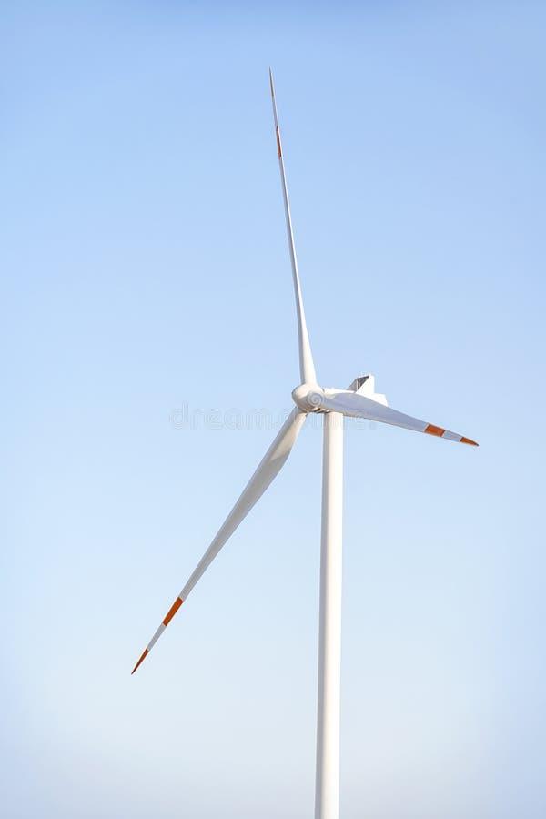 风力发电器涡轮 图库摄影