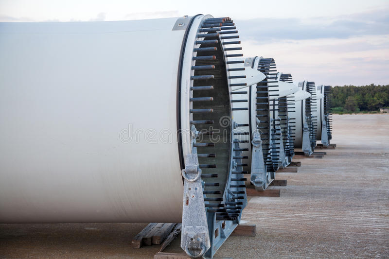 风力发电器 免版税库存照片