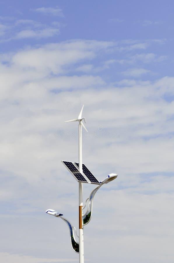 风和太阳光 图库摄影
