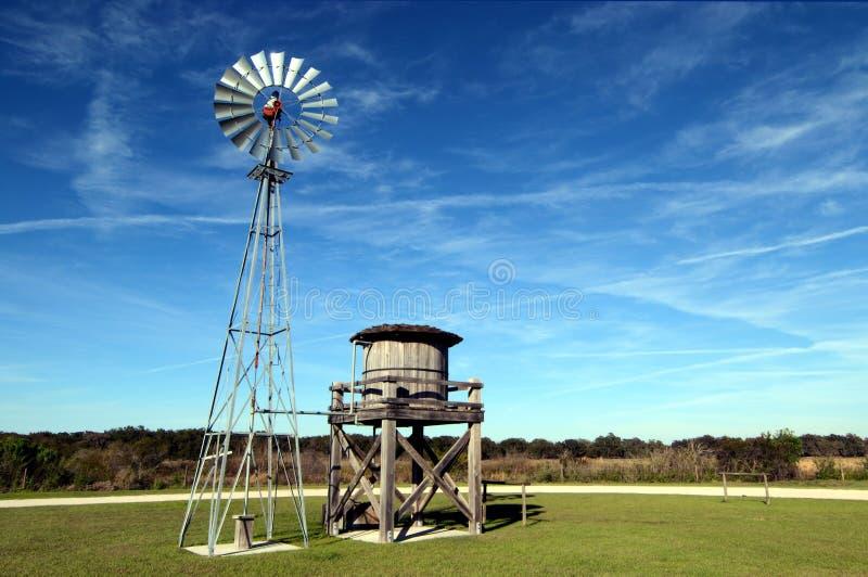 风和水 免版税库存照片