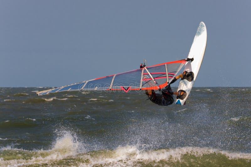 风帆冲浪者 库存图片