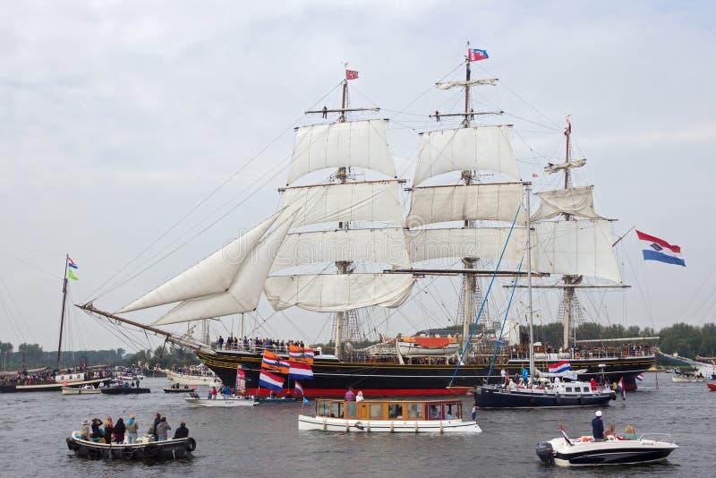 风帆船 免版税图库摄影