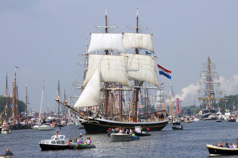 风帆船Morgenster 免版税库存图片