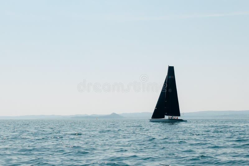 黑风帆 免版税库存照片