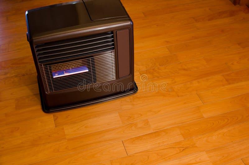 风扇加热器煤油 免版税库存图片