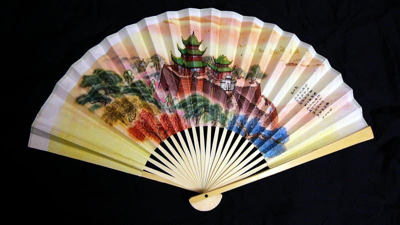 风扇纸张 免版税库存照片