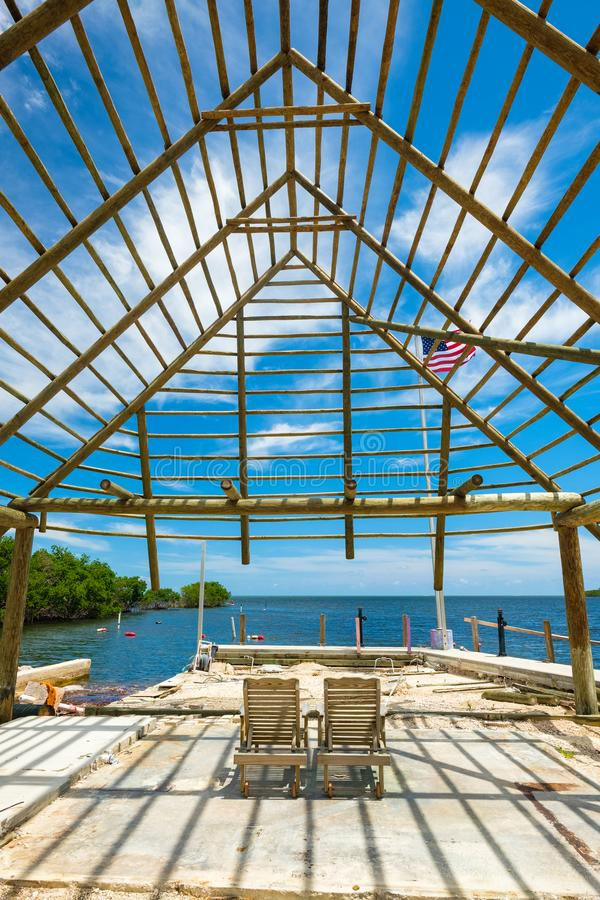 风景佛罗里达群岛 图库摄影