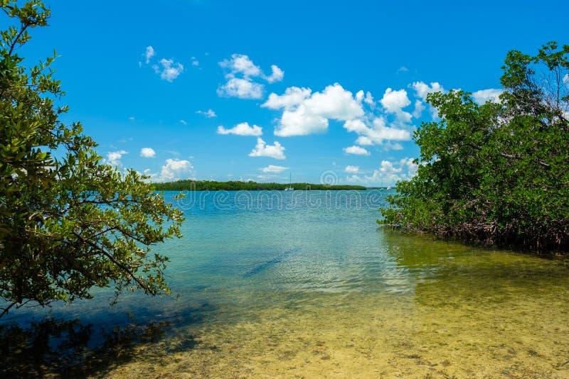 风景佛罗里达群岛 免版税库存图片