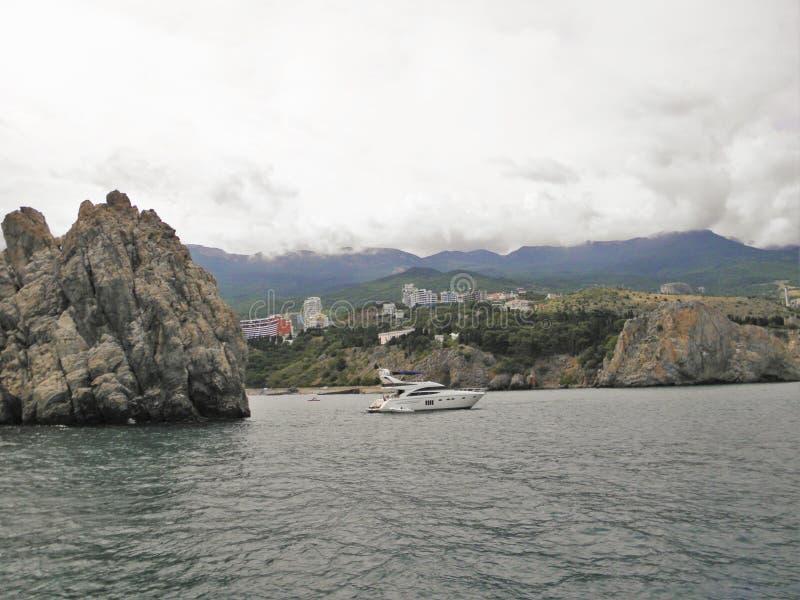 风景克里米亚乌克兰 库存图片