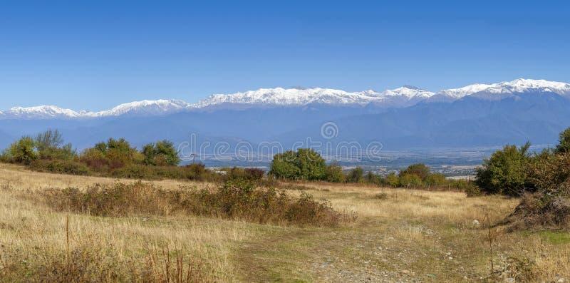 风景在卡赫季州地区,乔治亚 库存图片