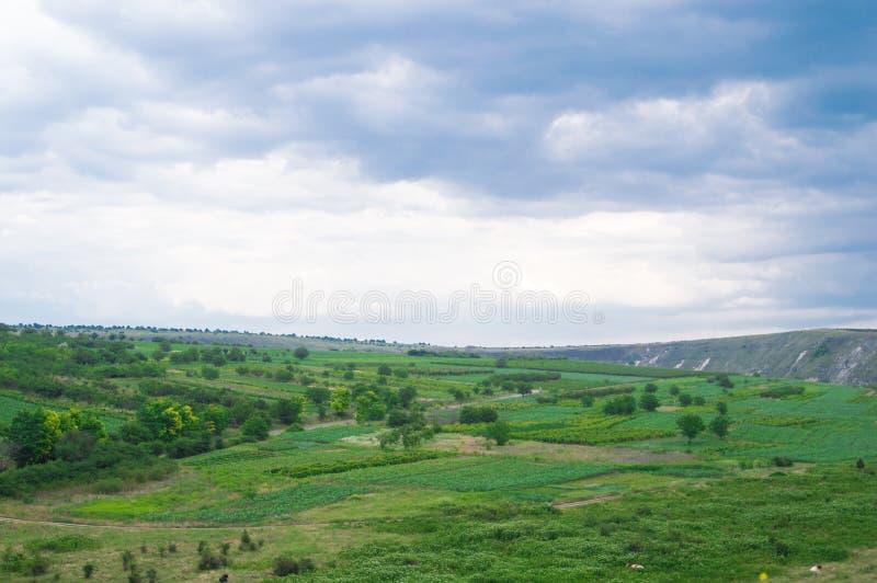 风景在摩尔多瓦 库存照片
