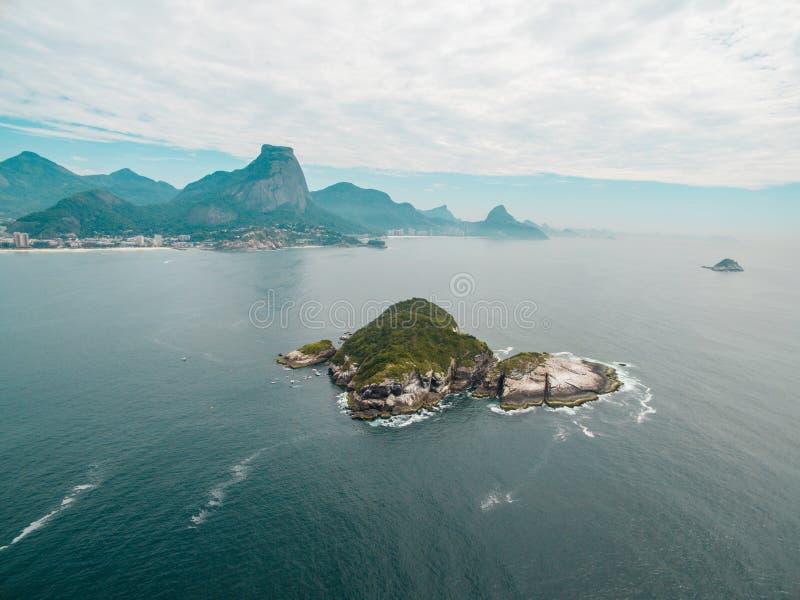 风景在里约热内卢 免版税库存图片