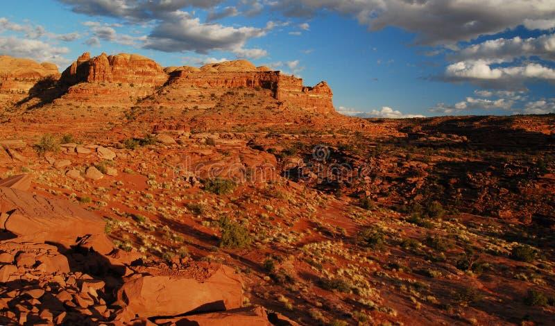 风景城堡的沙漠 库存照片