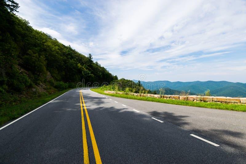 风景夏天风景忽略推进Shenandoah全国Pa 库存图片