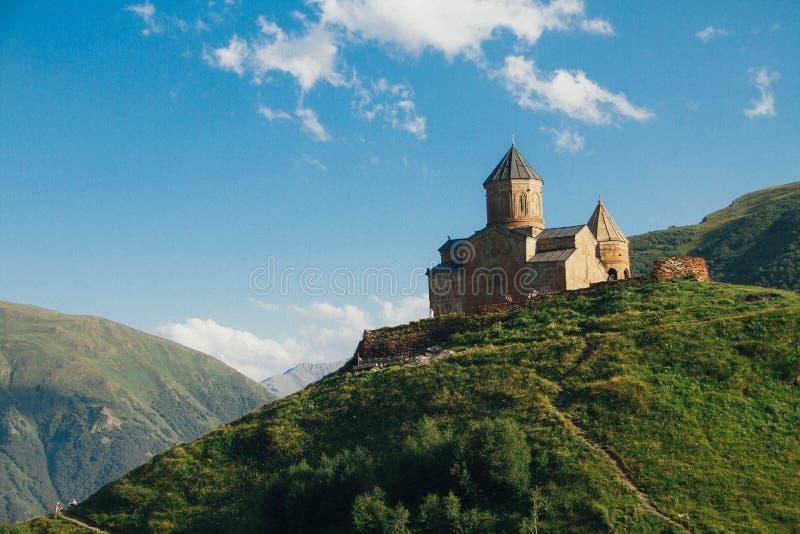 风景山城堡 库存图片